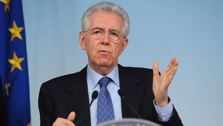 Mario Monti. Beeld epa