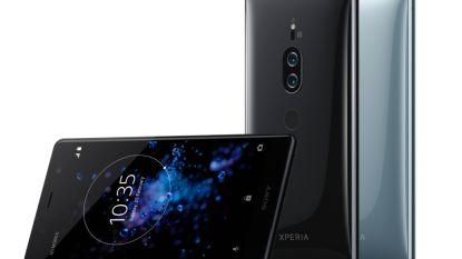 Sony plant topsmartphone met 4K-scherm en dubbele camera