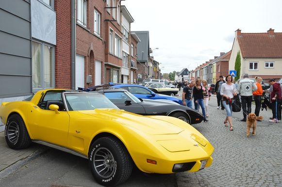 De 'All American Day' in de Pollarestraat in Ninove.