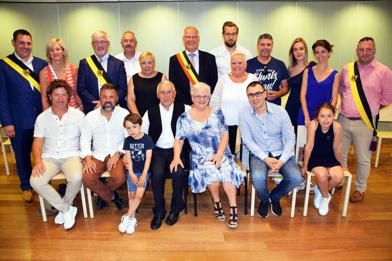 Claude en Viviane vieren gouden huwelijksjubileum in Sint-Pieters-Leeuw