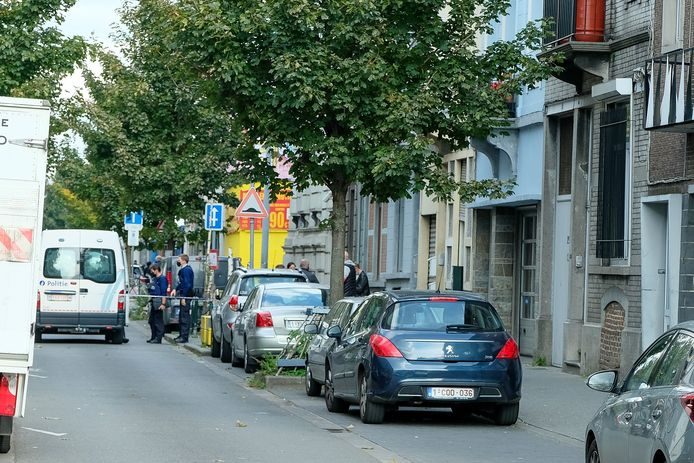 Gezinsdrama in de Heyvaertstraat, op de grens tussen Anderlecht en Molenbeek.