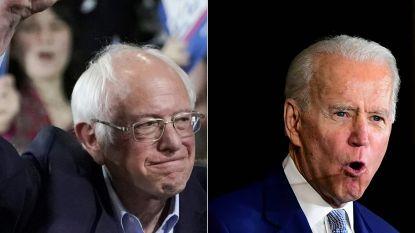 Sanders versus Biden: Democratische presidentsrace draait sneller dan verwacht op tweestrijd uit