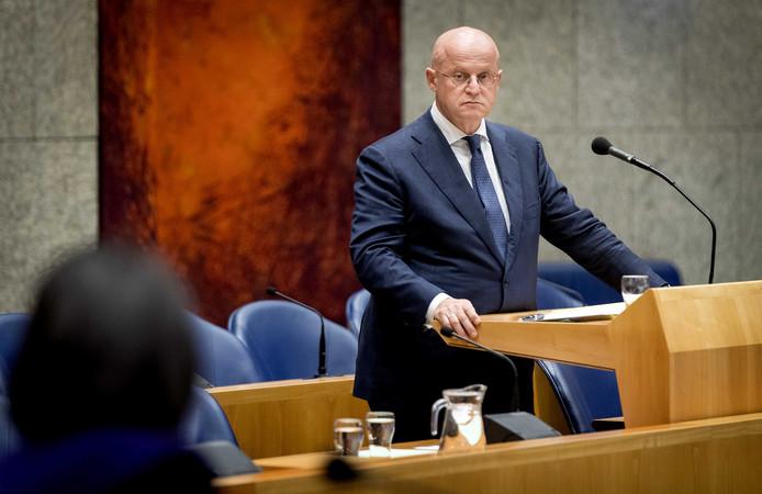 Minister van Justitie en Veiligheid Ferd Grapperhaus