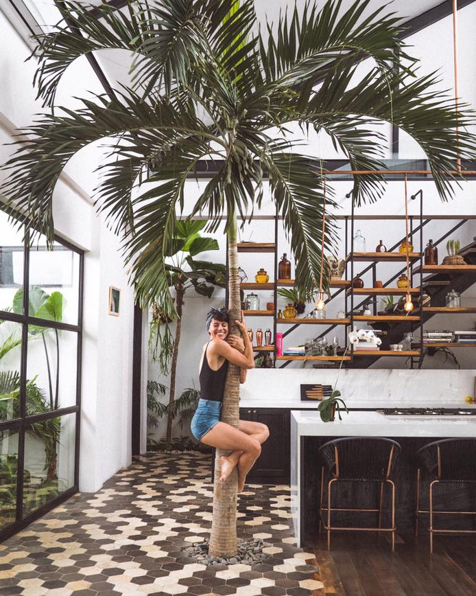 Sorelle op Bali.