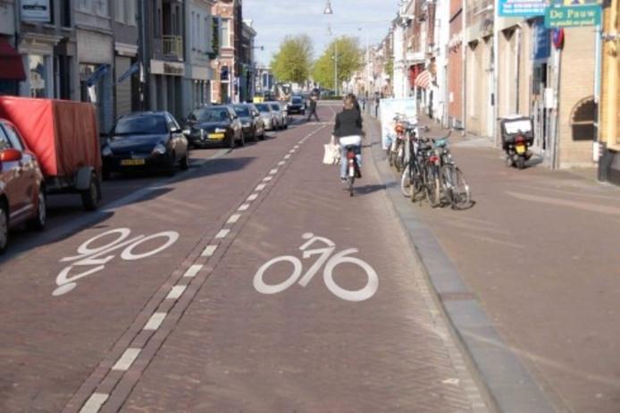 De Boschstraat is van oudsher een veel gebruikte weg richting de binnenstad, met name door fietsers.