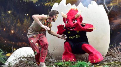 Maak kennis met onze WK-mascotte: 'Red' moet de Rode Duivels naar succes loodsen