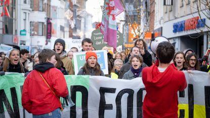 'Global Strike ForFuture' eindigt met luidkeels klimaatalarm op Grote Markt