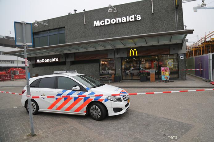 Poging overval op McDonald's Leidschendam