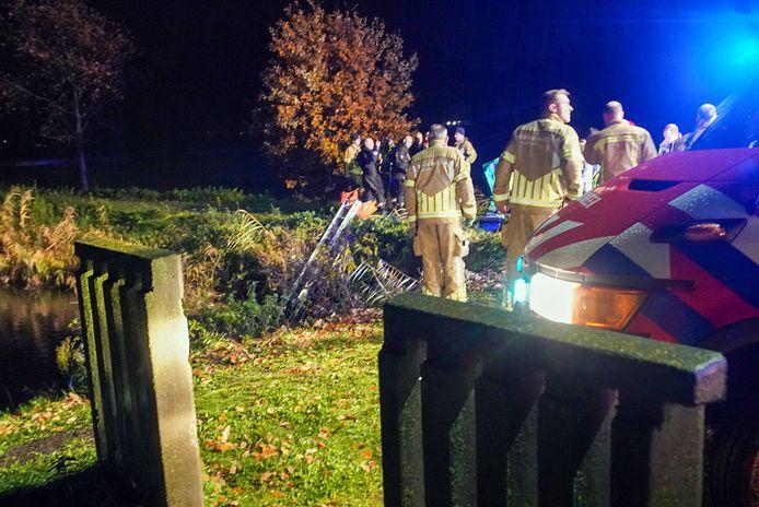 Twee jongens overleden op 28 november na een ongeluk, waarbij hun auto in een waterbassin reed aan de Broekstraat in Someren.