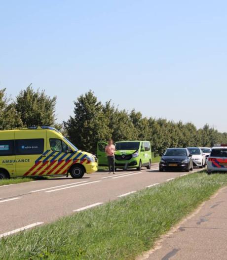 Twee botsingen zorgen voor nog meer oponthoud op N289 bij Rilland