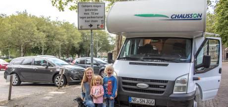 Nieuwe camperpark Zwolle in trek, maar ook 'kale' Turfmarkt blijft populair