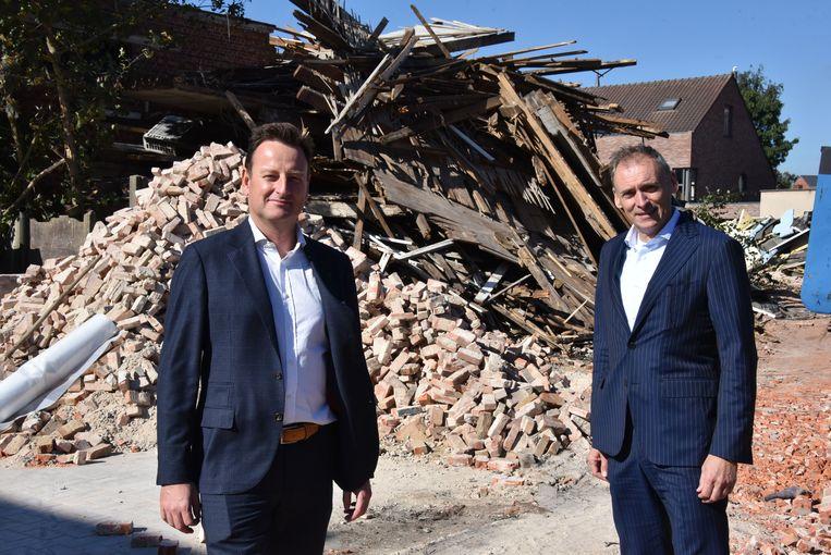 Projectverantwoordelijken Miguel Van Hoof en Luc Thollebeek.