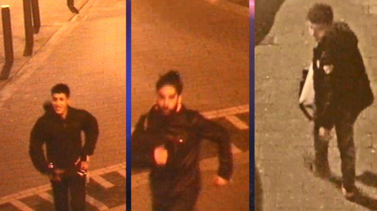 Deze drie mannen overvielen hun slachtoffer in de Kammenstraat. De rechtse jongeman had het slachtoffer Wouter eerst het hof gemaakt.