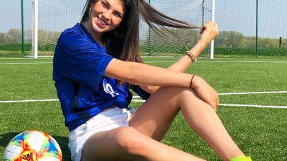 Van 0 naar 2,7 miljoen volgers in halfjaar tijd: Celine (20) is populairste Belg op TikTok dankzij... voetbalfilmpjes