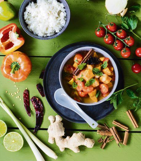 Wat Eten We Vandaag: Zoete aardappelcurry