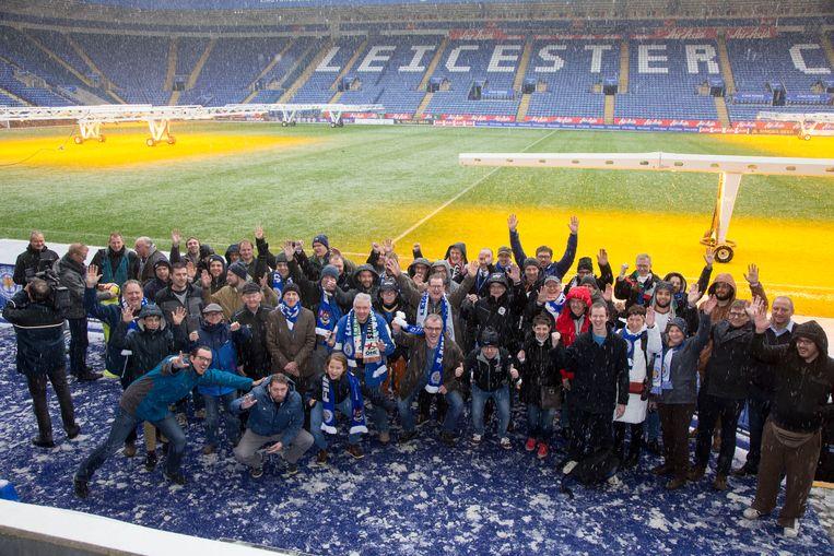 Twee jaar geleden trokken zo'n honderd OHL- supporters reeds naar Leicester.