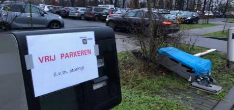 Gratis parkeren Bernhoven is voorbij, de slagboom is gemaakt