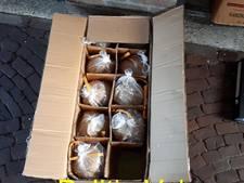 Partij illegaal vuurwerk in beslag genomen in Wezep