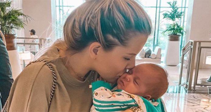 Jessica Thivenin et son bébé
