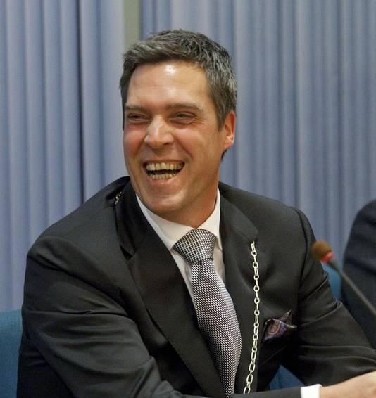 Burgemeester Aart-Jan Moerkerke