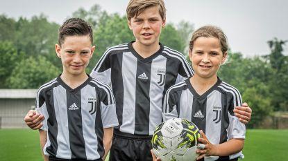 """Jong voetbaltalent mag sjotten bij Juventus Turijn: """"Zo goed worden als Messi, Hazard en Ronaldo"""""""