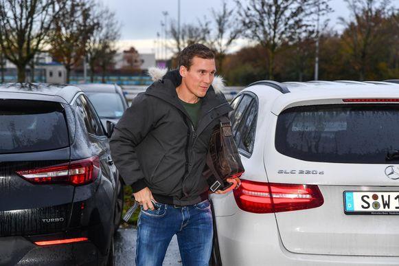 Hannes Wolf arriveert in de Luminus Arena.