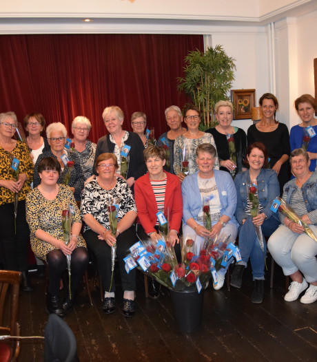 KWF Goor huldigt 21 collectanten