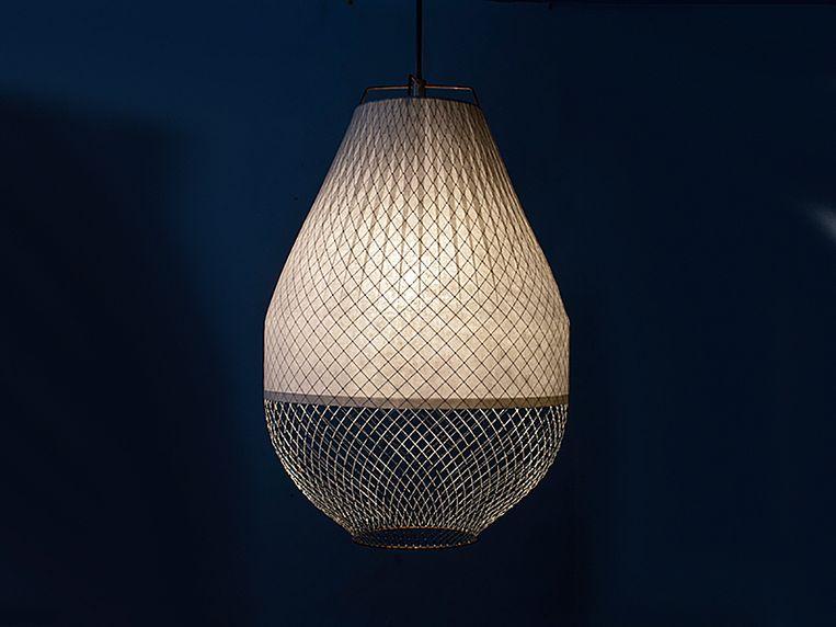 De Open Meshmatics hanglamp van Rick Tegelaar Beeld Rick Tegelaar