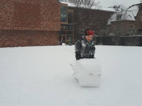 Sneeuw kleurt Dordrecht en regio wit