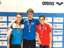 Parazwemmer Jesse (15) uit Lelystad pakt vijf medailles bij kampioenschap: 'supertof'
