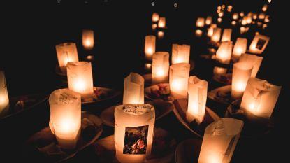 'Shine a light', een initiatief van de vriendinnen van Julie Van Espen: 1.500 mensen steken lichtje aan voor iedereen die gemist wordt