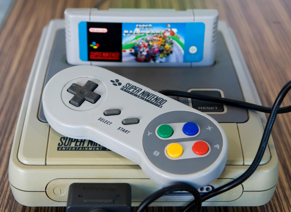 De klassieke Super Nintendo.