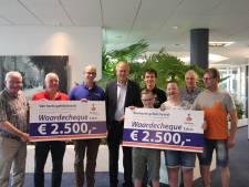 Giften Rabobank Rijssen-Enter voor imkers en truckrun