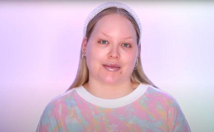 Nikkie de Jager in haar laatste YouTube-video.