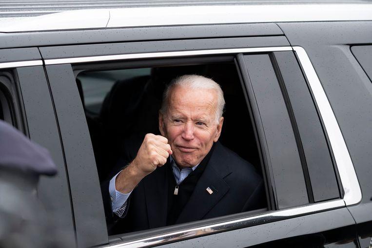 En of hij klaar is voor de race. Als hij wint, zal Biden met 78 jaar de oudste Amerikaanse president ooit zijn die aan het mandaat begint.