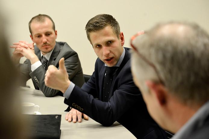 Jordi Rietman van de PVV in Hengelo.