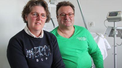"""Pas aangekochte AED-toestellen WTC Ontspanning Verenigt komen net te laat: """"Mijn vrouw redde mijn leven"""""""