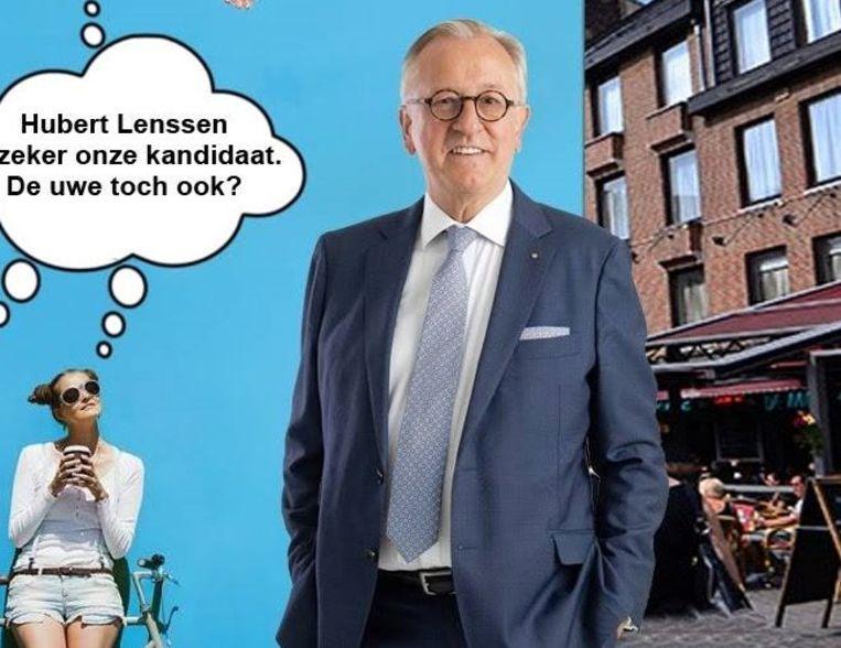 Gemeenteraadslid Hubert Lenssen.