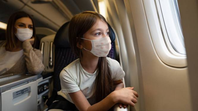 Studie: de kans om Covid-19 op te lopen op het vliegtuig is kleiner dan je denkt