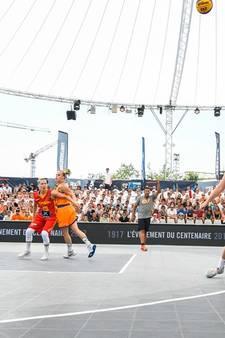 'Brabants' Oranje grijpt net naast medaille bij WK basketbal 3x3; mannen pakken zilveren plak