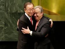 Guterres officieel beëdigd als secretaris-generaal VN