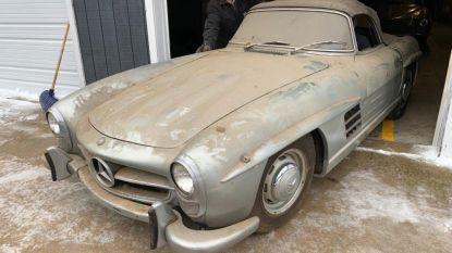 Deze Mercedes van 1 miljoen stond 40 jaar onaangeroerd in een schuur