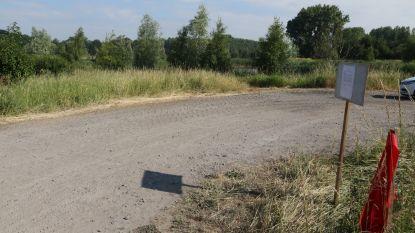 Verboden water op te pompen uit het bufferbekken in Vlamertinge