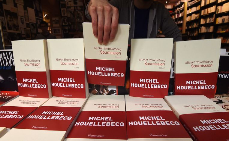 Sousmission, het nieuwe boek van Houellebecq. Beeld afp
