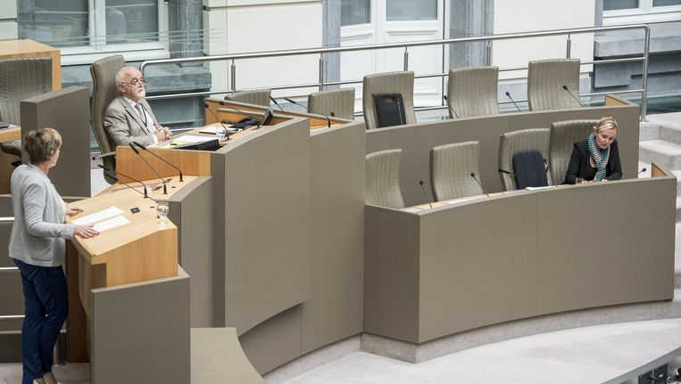 Huidig Vlaams parlementsvoorzitter Jan Peumans.