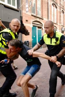 Rake klappen in centrum van Arnhem: grote oefening van ME