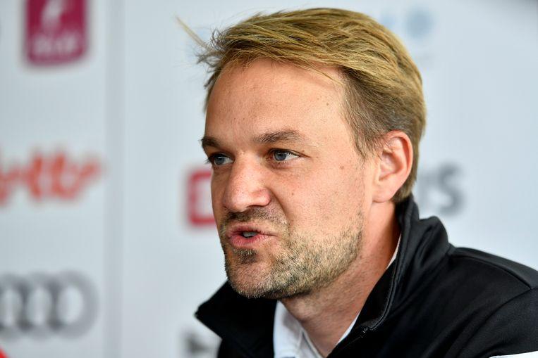 Bondscoach Niels Thijssen.