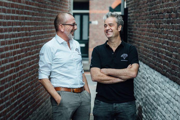 Kiske de Leest (links) en Marc de Laat.