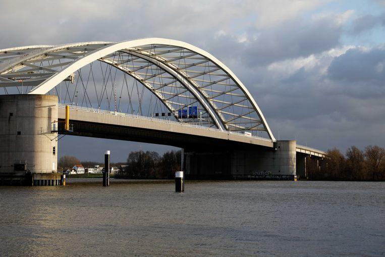 De Brienenoordbrug in Rotterdam.  Beeld ANP