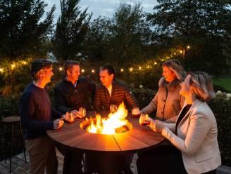 Tafel, vuurkorf, grill en ijsemmer in één: West-Vlaams bedrijf lanceert opvallend designmeubel voor een feest(je) op het terras